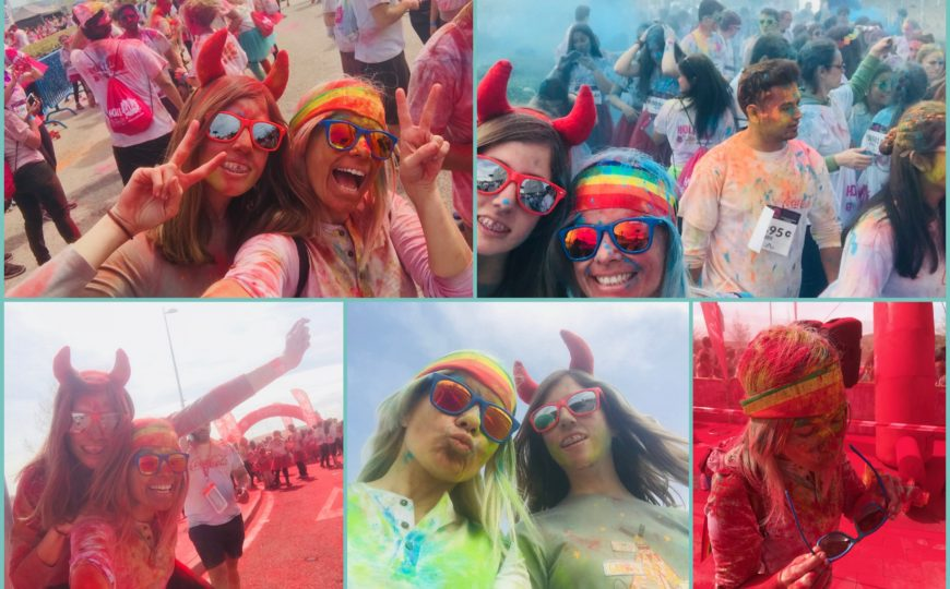¡Un domingo Multicolor!- HoliLife Madrid 2018