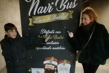 """El """"Navibus"""" otra propuesta muy original para las navidades."""