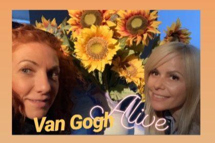 «Van Gogh Alive».                Una forma muy especial de sentir el arte