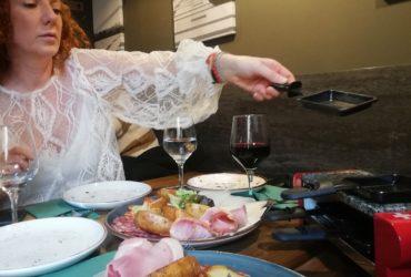 Una «raclette»para compartir en casita con los tuyos