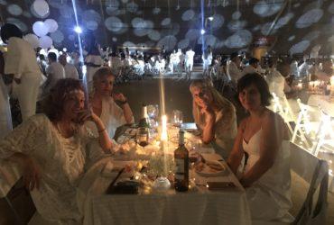Pelirrojamenterubia en…¡Le Diner en Blanc!