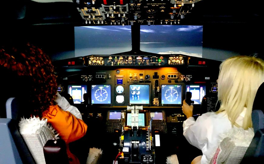Al mando de un Boeing 737-NG…¡¡¡Oh my God!!!