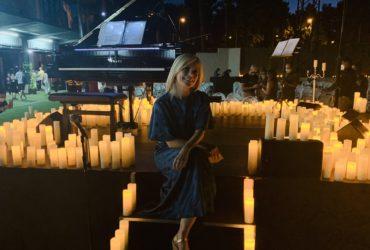 Música a la luz de las velas