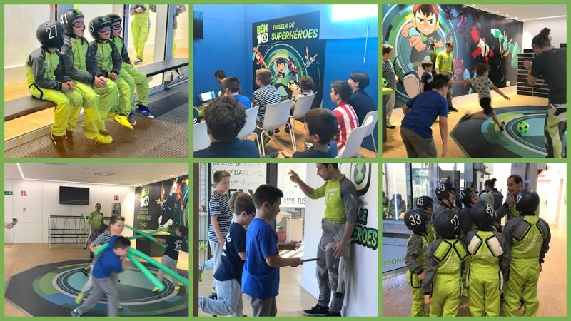 ¡Niñooss, a volaaar! Escuela de Superhéroes en Madrid